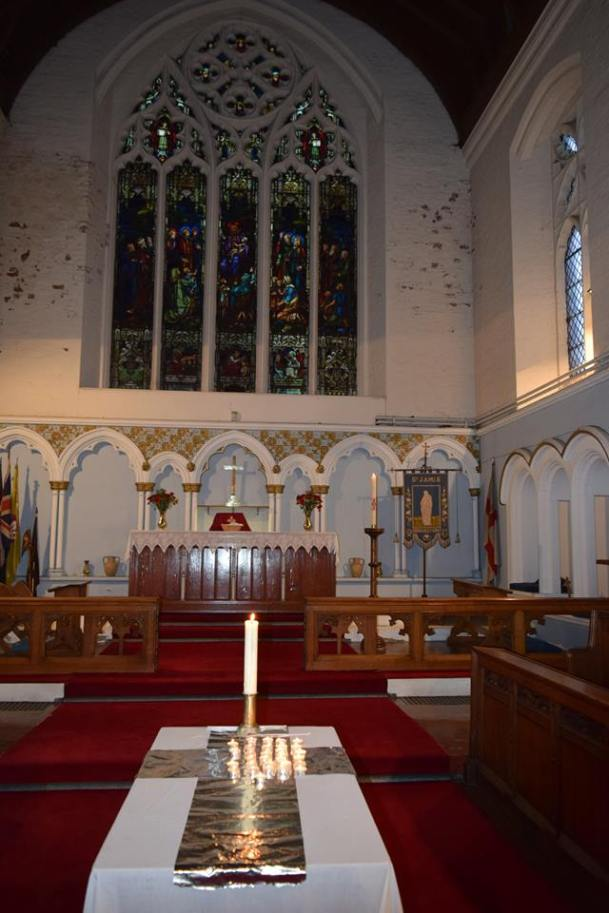 st james interior