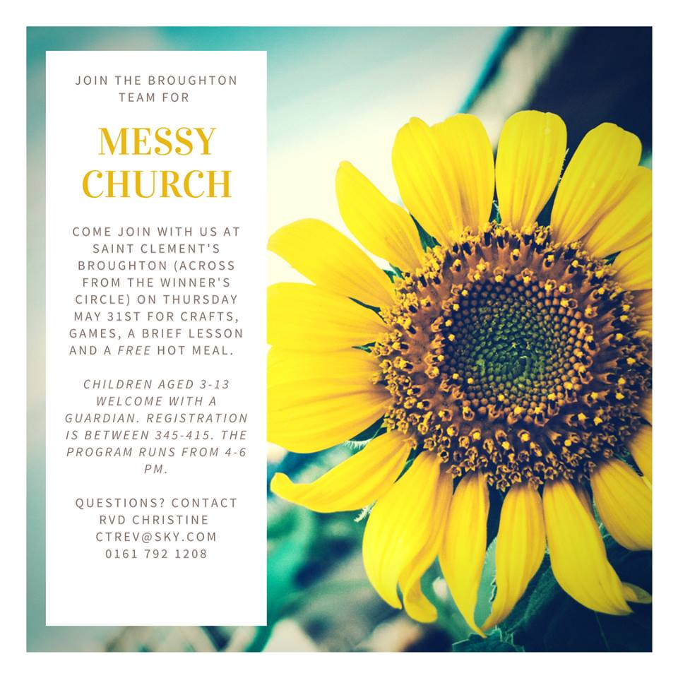 May Messy Church (The Earth)